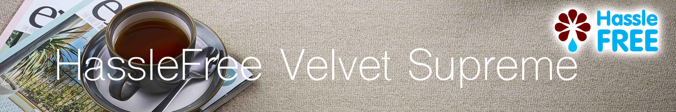 HassleFree Velvet Supreme Carpet Header